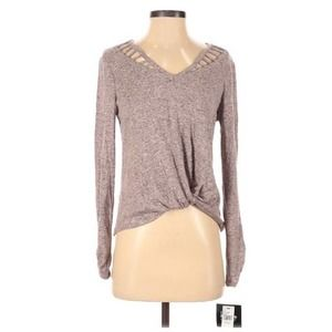 New By & By Small Long Sleeve Top